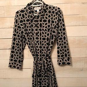Donna Morgan shirt dress